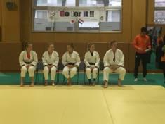 オランダ女子柔道チーム歓迎セレモニー