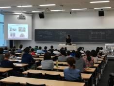芝浦工業大学の公開講座に協力させていただきました